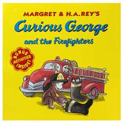 Curious George And The Firefighters By Houghton Mifflin