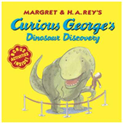 Carry Along Book & Cd Curious George Dinosaur Disc By Houghton Mifflin