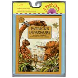 Carry Along Book & Cd Patricks Dinosaurs By Houghton Mifflin