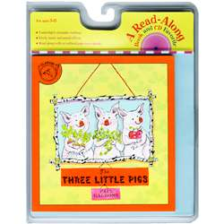Carry Along Book & Cd Three Little Pigs By Houghton Mifflin