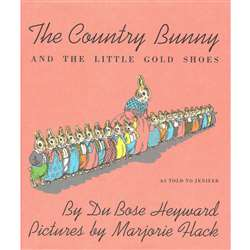 The Country Bunny & The Little Gold Shoes By Houghton Mifflin