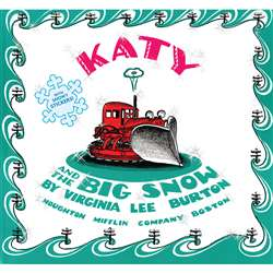 Katy And The Big Snow Burton By Houghton Mifflin