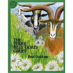Three Billy Goats Gruff By Houghton Mifflin