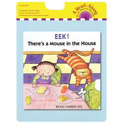 Eek Theres A Mouse In The House Carry Read Along Book & Cd By Houghton Mifflin