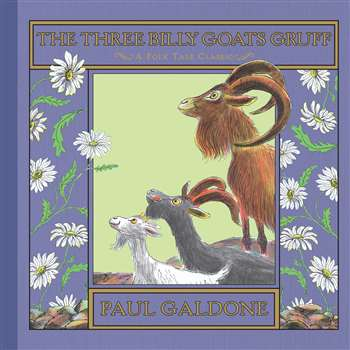 The Three Billy Goats Gruff Hardcover By Houghton Mifflin