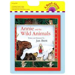 Annie And The Wild Animals Carry Read Along Book & Cd By Houghton Mifflin