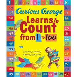 Curious George Learns To Count From 1 To 100 Big Book By Houghton Mifflin