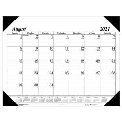 Academic Economy Desk Pad 17-Month Aug-Dec By House Of Doolittle