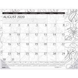 Doodle Compact Desk Pad Aug-Jul Academic, HOD18765