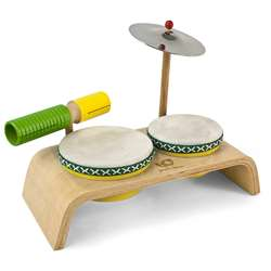 Green Tones Beginner Drum Set, HOH3750
