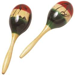 Wood Maracas By Hohner