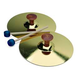 5 Cymbals W/Mallet Pair By Hohner