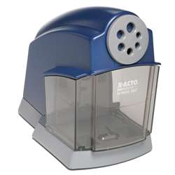 Pencil Sharpener Electric School Pro Blue-Gray By Elmers - Borden