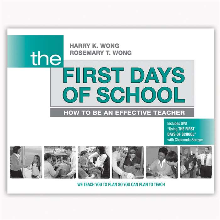 The First Day Of School By Harry K Wong Publications