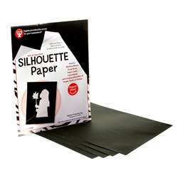 Silhouette Paper 25 Shts Per Pk 8 1/2 X 11 By Hygloss Products