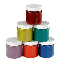 Bucket O Sand 6 Asstd Colors 6 Oz By Hygloss Products