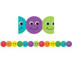 Smiley Face Mighty Brights Border By Hygloss Products