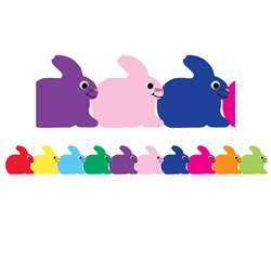 Bunny Die Cut Border By Hygloss Products