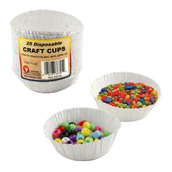 Craft Cups 25 Cups By Hygloss Products