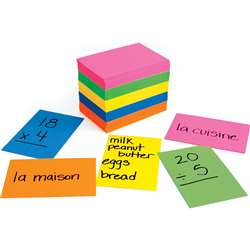 Bright Flash Cards 2X3 By Hygloss Products