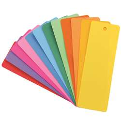 Bookmarks 2 X 6 Asstd Colors 100 By Hygloss Products