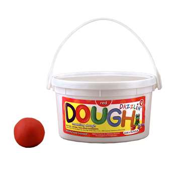 Scented Dazzlin Dough Red Watermelon 3 Lb Tub By Hygloss Products