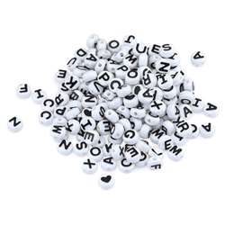 Abc Beads Black And White 300 Count, HYG69301
