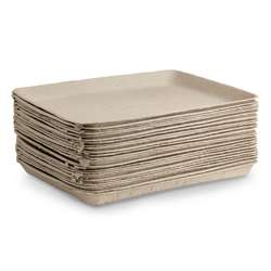 Pulp Collage Trays 9X11 25Pk, HYG6981