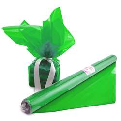 Cello Wrap Roll Green By Hygloss Products