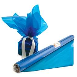 Cello Wrap Roll Blue By Hygloss Products