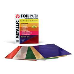 Metallic Paper 10Pk Asst Colors By Hygloss Products