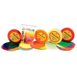 Tissue Paper 480 Circles Primary Colors By Hygloss Products