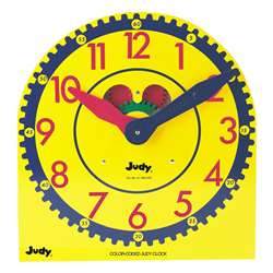 Color-Coded Judy Clock By Frank Schaffer Publications