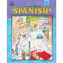 Teach Them Spanish. Grade 2 By Frank Schaffer Publications