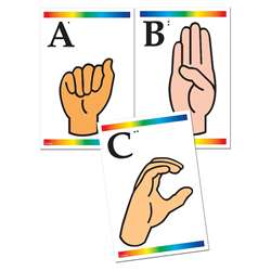 Learning Cards Sign Language & Learning Cards Sign Language & By Frank Schaffer Publications