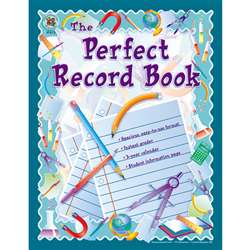 Record Book The Perfect 8 X 11 Gr K & Up By Frank Schaffer Publications
