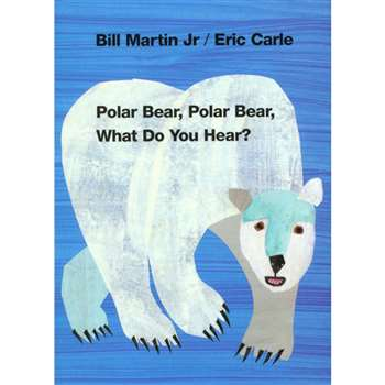 Polar Bear Polar Bear What Do You Hear Board Book By Macmillan/Mps