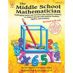 The Middle School Mathematician Reved By Incentive Publication