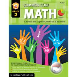 Math Gr 2 Common Core Reinforcement Activities By Incentive Publication