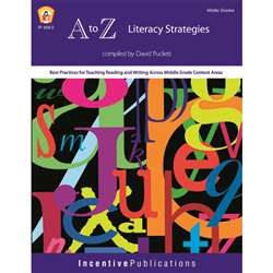 A To Z Literacy Strategies By Incentive Publication