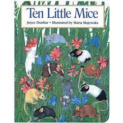Ten Little Mice Big Book By Houghton Mifflin