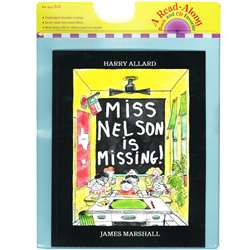 Carry Along Book & Cd Miss Nelson Is Missing By Houghton Mifflin
