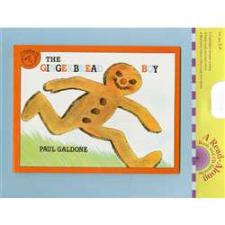 Carry Along Book & Cd The Gingerbread Boy By Houghton Mifflin