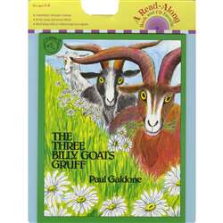 Carry Along Book & Cd The Three Billy Goats Gruff By Houghton Mifflin
