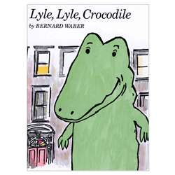 Carry Along Book Cd Lyle Lyle Crocodile By Houghton Mifflin