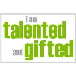 I Am Talented And Gifted Poster, ISM0003P