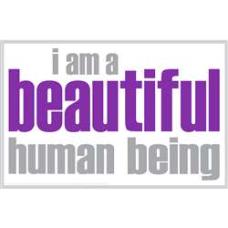I Am Beautiful Notes 20 Pack, ISM0004N
