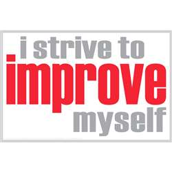 I Strive To Improve Poster, ISM0006P