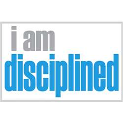 I Am Disciplined Poster, ISM0009P