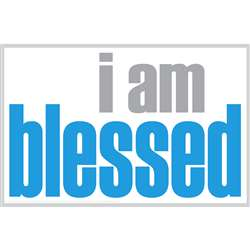 I Am Blessed Poster, ISM0015P